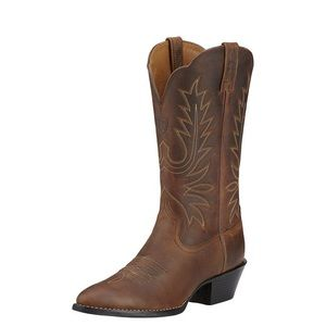 Ariat women's brown cowboy boots, 8.5